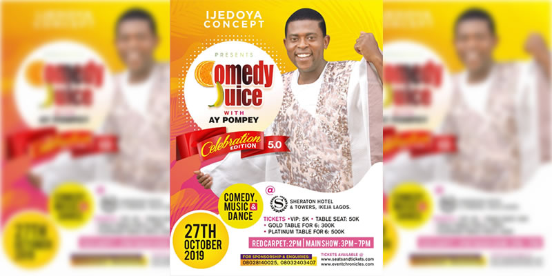 Comedy Juice with AY Pompey Celebration Edition 5.0