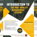 INTRODUCTION TO ISO 9001 QUALITY MANAGEMENT SYSTEM